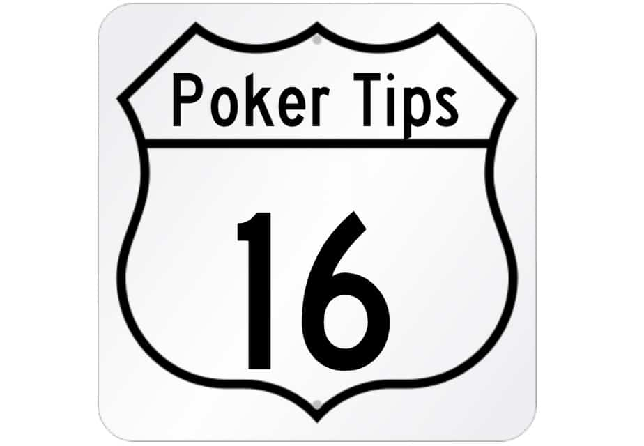 16 Vital Poker Tips Every Beginner Should Know