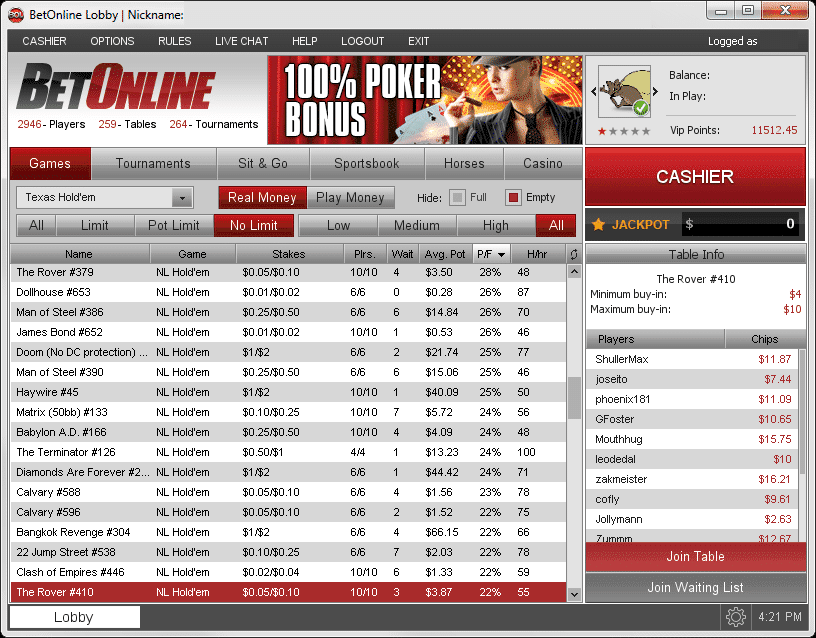 BetOnline Poker: A Real Player's In-Depth Review | Automatic Poker