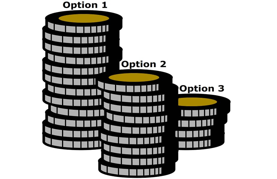 Three Stack Size Choices Poker