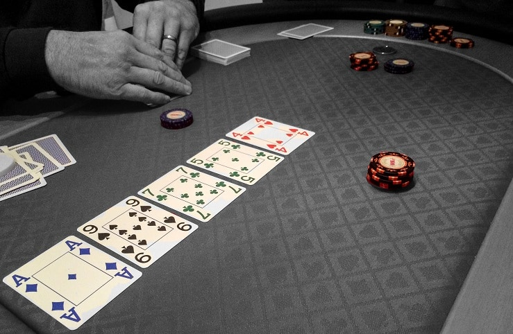 Poker Table Cards