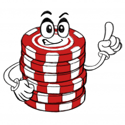 automatic poker chip stack character
